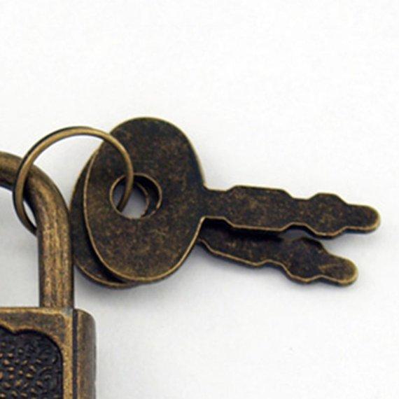 Rustic Lock and Key