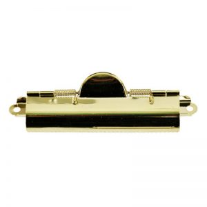 Brass Domed Clipboard Clip