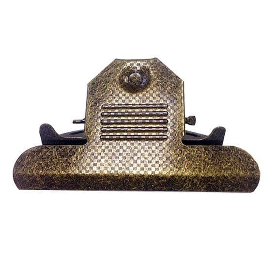 Checkered Clipboard Clip